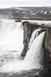Godafoss Waterfall. Godafiss Waterfall in North Iceland Stock Images