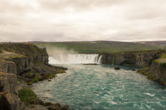 Godafoss-Waterfall of Gods Stock Images