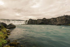 Godafoss-Waterfall of Gods Royalty Free Stock Images