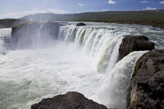 Godafoss Waterfall, Iceland Stock Photos