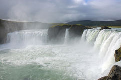 Godafoss waterfall, Iceland. Stock Photos