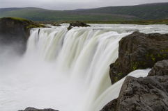 Godafoss waterfall, Iceland Royalty Free Stock Photography