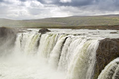Godafoss waterfall (Iceland) Stock Photography