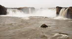 Godafoss waterfall, Iceland Royalty Free Stock Images