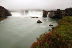 Godafoss waterfall in Iceland Stock Photos