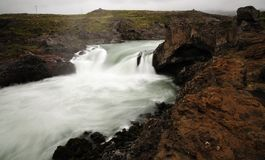 Godafoss waterfall in Iceland Royalty Free Stock Photo