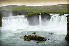 Godafoss waterfall in Iceland Royalty Free Stock Photo