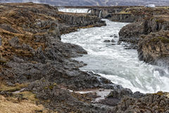 Godafoss waterfall in iceland Stock Images