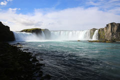 Godafoss Waterfall Royalty Free Stock Photography