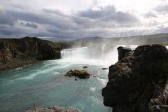 Godafoss Waterfall Stock Photo