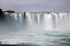 Godafoss Waterfall royalty free stock photography