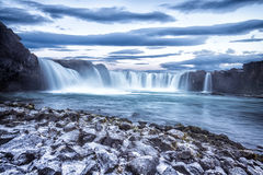 Godafoss waterfall in Iceland Royalty Free Stock Images