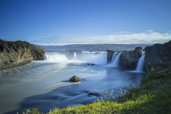 Godafoss Waterfall Royalty Free Stock Photo