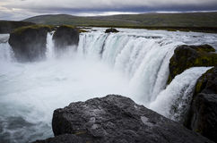 Godafoss waterfall, Iceland Royalty Free Stock Image
