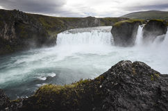 Godafoss waterfall, Iceland stock image