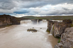 Godafoss waterfall, North Iceland Stock Images