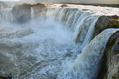 Godafoss waterfall Stock Image