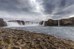 Godafoss waterfall Royalty Free Stock Image