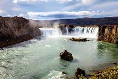 Godafoss waterfall Royalty Free Stock Photos