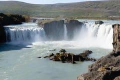 Godafoss waterfalls Royalty Free Stock Image