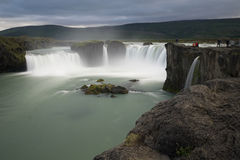 Godafoss waterfalls in Iceland Stock Photo