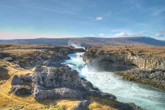 Godafoss Waterfalls, Iceland Stock Photography