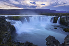 Godafoss waterfalls Iceland Royalty Free Stock Photography