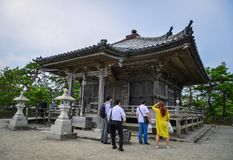 Godaido świątynia w Matsushima, Japonia Zdjęcie Royalty Free