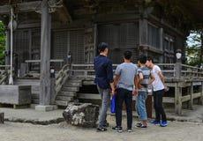 Godaido świątynia w Matsushima, Japonia Zdjęcia Royalty Free