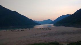 Godavari-Fluss Stockfotografie
