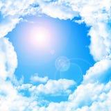 Goddelijke hemel stock illustratie
