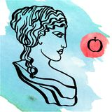 Goddes antiguos Imagenes de archivo