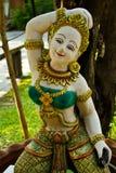 Goddes of land miniature. Goddess of land miniature in Amphawa park, Thailand Stock Images