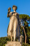Goddess of abundance Stock Images