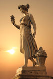 Goddess of abundance statue Stock Images