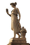 Goddess of abundance statue Stock Photos