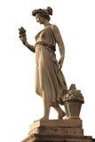 Goddess of abundance statue. In Piazza del popolo Stock Photos
