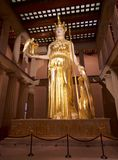 The Goddess Athena in the Parthenon Museum, Nashville TN Royalty Free Stock Image