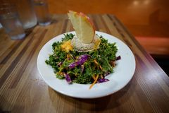 Goddess Bowl - Kale Salad stock photography