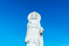 Goddess of compassion and mercy statue. In Thailand royalty free stock photos