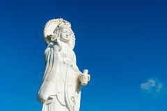 Goddess of compassion and mercy statue. In Thailand Royalty Free Stock Photo