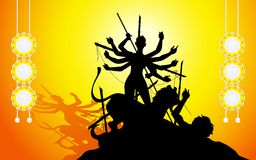 Goddess Durga Stock Image