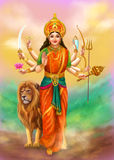 Goddess Durga Royalty Free Stock Photo