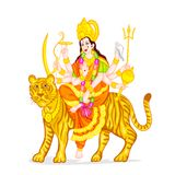 Goddess Durga Royalty Free Stock Photos