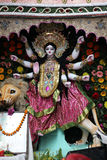 Goddess Durga. On February 08, 2014.  is popular amongst Hindu Bengalis, and is worshipped with enthusiasm by her devoted followers Royalty Free Stock Image