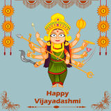 Goddess Durga for Happy Dussehra Royalty Free Stock Images