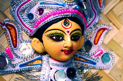 Goddess Durga in her graceful avatar Royalty Free Stock Photos
