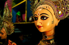 Goddess Durga in her graceful avatar Stock Photos