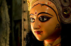 Goddess Durga in her graceful avatar Royalty Free Stock Photo