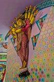 Goddess Durga idol Durga Puja Festival Calcutta. Goddess Durga idol, artwork, Durga Puja Festival, Kolkata, Calcutta with copy space Royalty Free Stock Image
